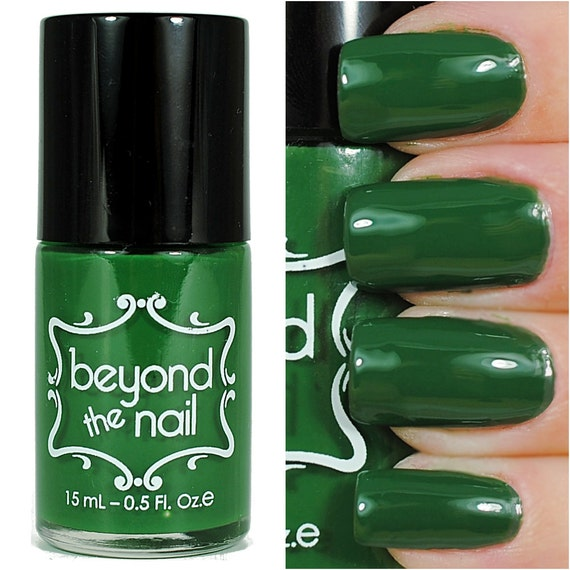 forest green nail polish