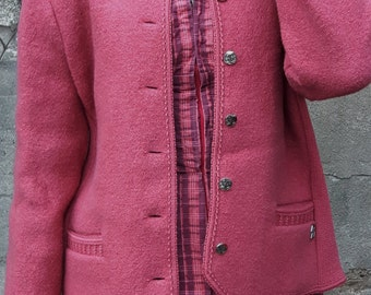 Vintage - pink jacket from the 80s - by