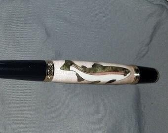 Rainbow Trout Pen, ballpoint pen, twist pen
