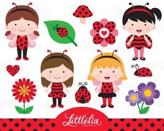 Ladybug clipart - Spring bug clipart - 15084