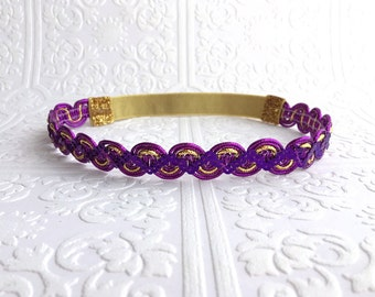 The Purple Mystic Shimmer Crown