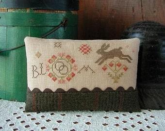 Pattern: Bloom Sampler Cross Stitch by Threadwork Primitives
