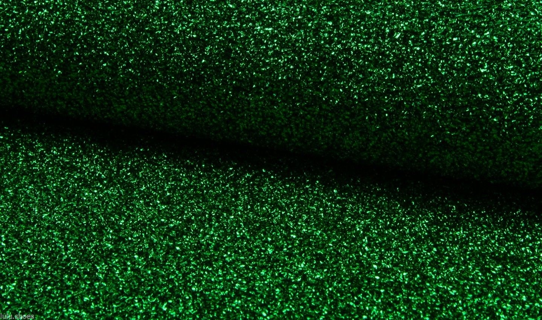 Mettalic green tinsel fabric material way stretch cm