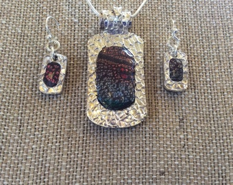 Precious Metal Clay and Polymer Clay Jewelry Set