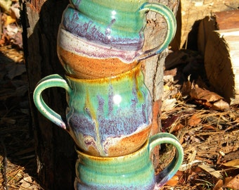Rainbow Ceramic Mug