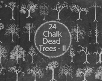 Chalk Dead Trees II