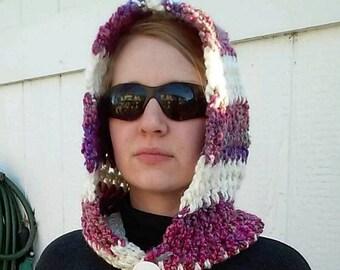 Crochet Hoodie/Cowl