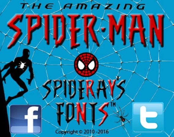 The Amazing Spider-Man Commercial Font