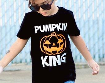 Pumpkin Shirt, Pumpkin Shirt Boy, Pumpkin Shirt Toddler, Pumpkin King, Jack O Lantern Shirt, Halloween Shirt For Boys, Toddler Boys