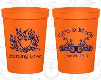 Orange Stadium Cups, Orange Cups, Orange Plastic Cups, Orange Party Cups, Orange Wedding Cups (93)