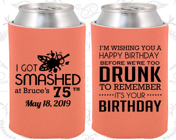 75th Birthday Ideas Party Favors