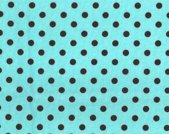 Michael Miller Fabrics - Dumb Dot Aqua - CX2490-AQUA-D