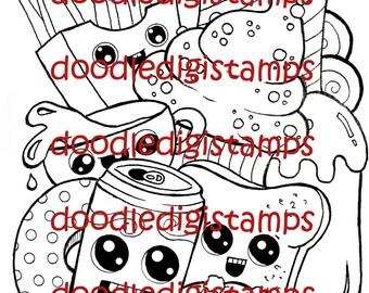 Happy Meal Digital Stamp
