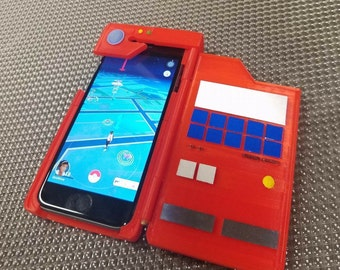3d printed pokemon Pokedex Iphone 4/5/6/6+ case ( DIY KIT )