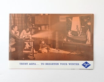 Trust Agfa To Brighten Your Winter Pull Out Pamphlet