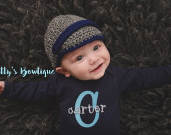 Baby Boy Coming Home Outfit - Baby Boy Bodysuit - Personalized Embroidered Baby Clothing Monogram - Baby Outfit - Baby Boy shower gift