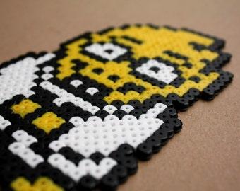 Undertale Alphys Perler Hama Bead Sprite Pixel Art