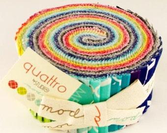 Quattro Jelly Roll by Moda