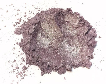 ICED LILAC Mineral Eyeshadow -  Shimmery Eye Shadow - Natural Mineral Makeup - Vegan Gluten Free Makeup - Purple Eye Color