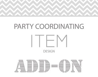 One party coordinating item