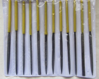 Needle File set of 12