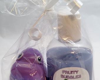 Children's Bubble Bath & Toy - Bubbly Bathtime Fun!