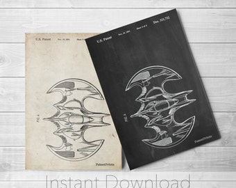 Batman Printables, Batman Wall Art, Movie Decor, Batman Room Decor, PP0263