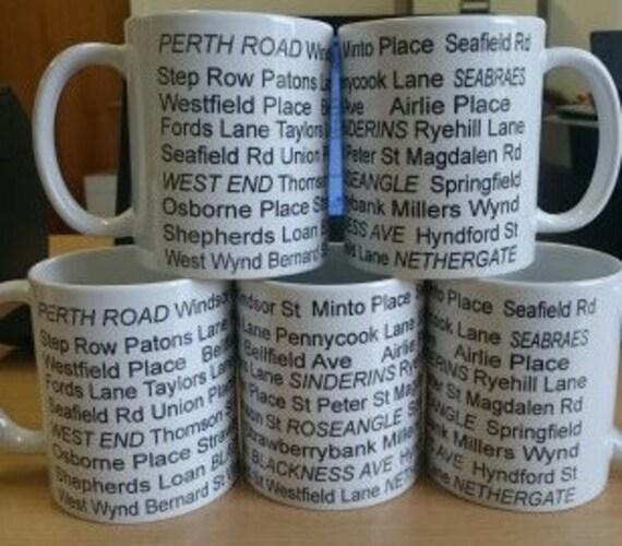 printed street mug