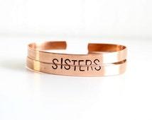 PREORDER Sister set - sister bracelets for 2 - sister gift - sister jewelry - unique gifts for sisters - gifts for sister - sister wedding