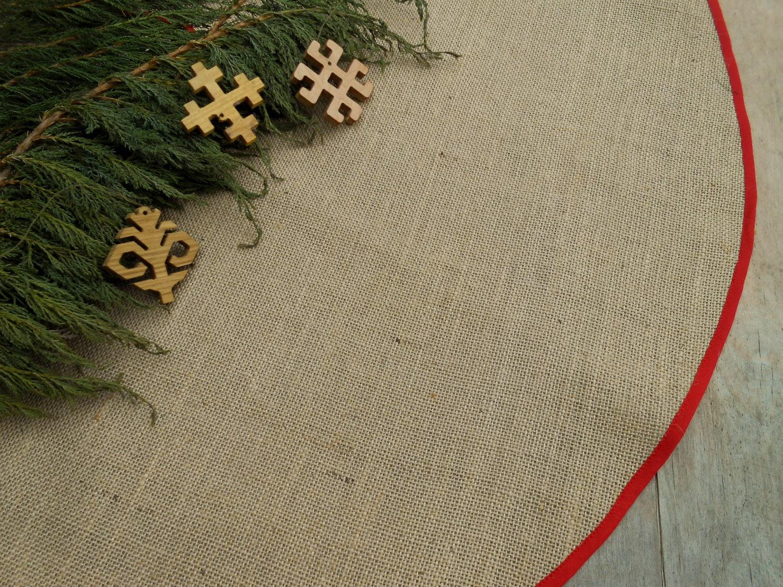 Tree Skirt Burlap Tree Skirt Christmas Tree Skirt Rustic