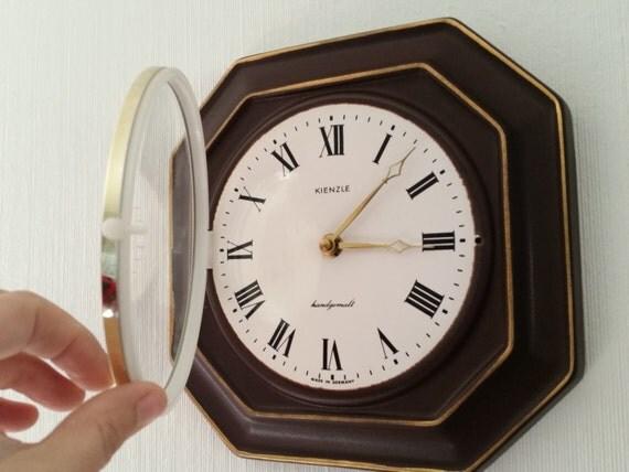midcentury kienzle vintage ceramic wall clock modern home