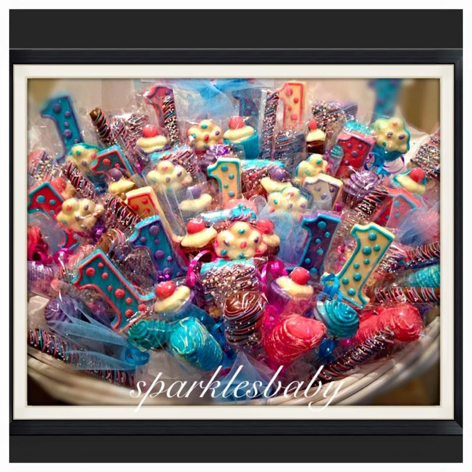 First birthday birthday chocolate basket commack pickup request a custom order and have something made just for you negle Choice Image