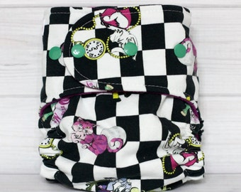 Checkered Alice - One Size AI2 Cloth Diaper