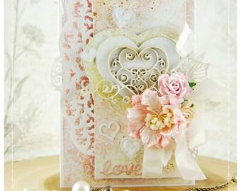 Handmade love card