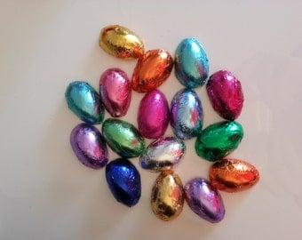 Solid Chocolate Mini Eggs