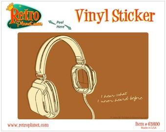 Lunastrella Headphones Music Vinyl Sticker - #63800