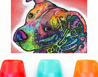 Pit Bull Puppy Dean Russo Wall Decal - #57638