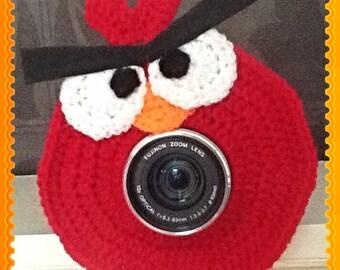 Handmade Angry Bird Camera Lens Buddy