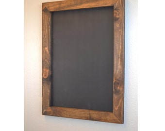 "Set of 2 Rustic Framed Chalkboards 24""x30"", Rustic Chalkboard, Rustic Wedding, Wedding Decor, Wedding Sign, Menu Sign, Bar Sign, Blackboard"