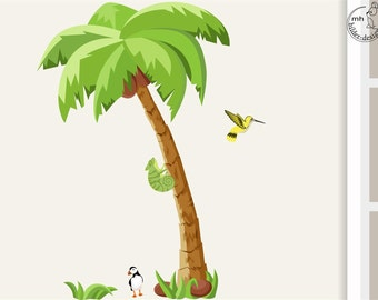 """Wall decal palm tree """"LITTLE"""""""