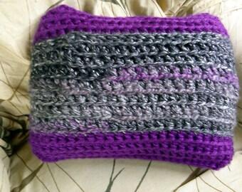 Hand Crochet Throw Pillow - Ready to Ship