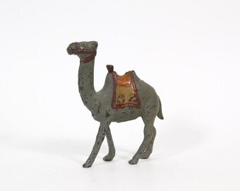 Vintage Small Cast Iron Camel Bank, Coin Bank, Still Bank, Hubley or AC Williams