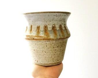 Vintage Pottery Vase- Robin's Egg Blue