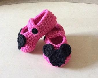 Crochet Minnie Mary Janes