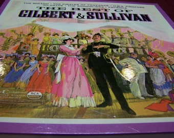 Best of Gilbert & Sullivan, record collection by Readers Digest