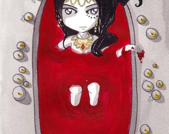 Ana Dess in Bathory - Illustration (ON COMMAND)