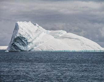 Iceberg photo, Antarctica, Winter Landscape Photography, Winter Art, White Art  Nature Photography, Fine Art Photography, Digital Download
