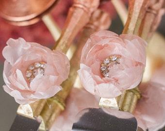 Rose Gold Cake Server Set, Blush Pink Cake Server Set, Engraved Server and Knife, Blush Cake Knife Set Rose Gold Wedding Cake Cutting Set
