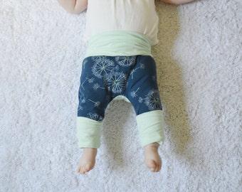 Pantalons évolutifs - Grow With Me Pants - Maxaloones - Bum Circle Pants - Cloth Diaper Pants - Baby Pants