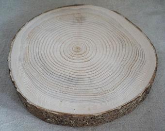Raw wood washer - 30 cm